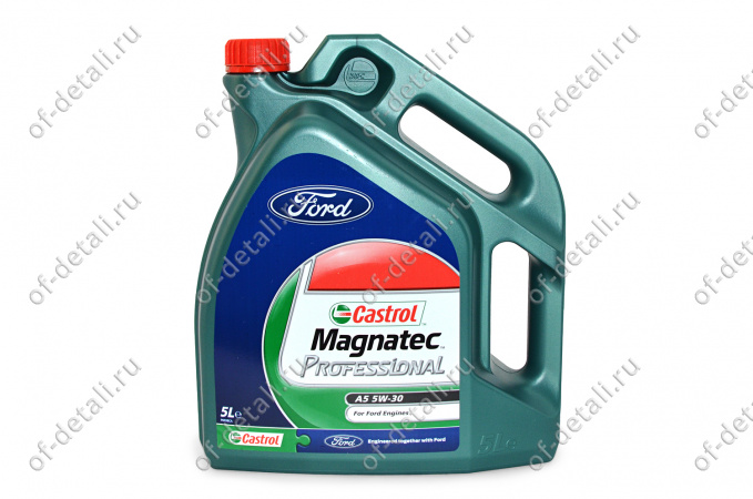 CASTROL Ford A5 5w-30 5л масло моторное (sw-зо)